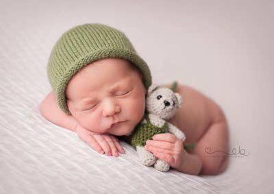 Foto noworodki pluszak