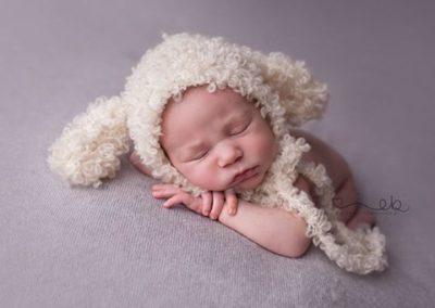 Fotografia noworodkowa pluszak