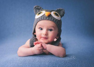 Fotografia noworodkowa sowa