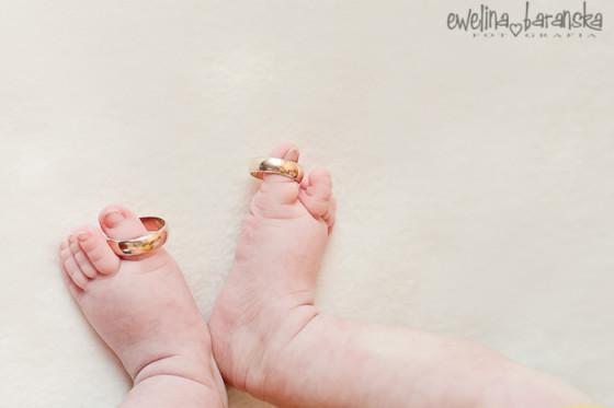 Faustyna – sesja niemowlęca