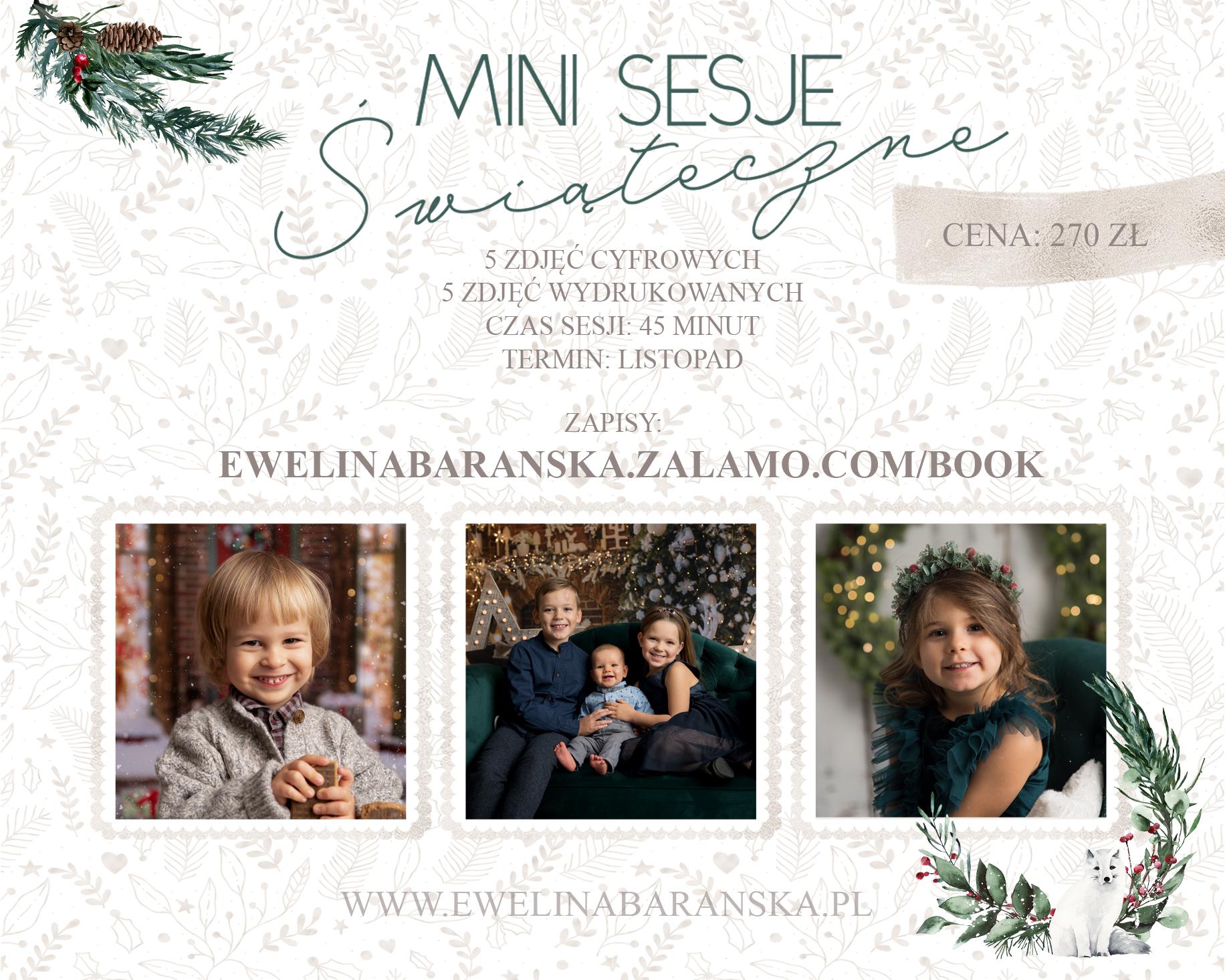 Mini sesje świąteczne / Rybnik